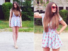 EVE GORE: Cute Womens Lolita Sweet Heart Shape Sunglasses 8182