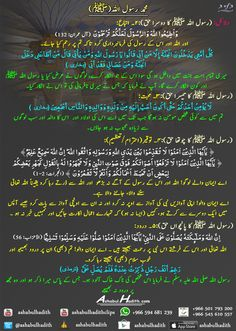 About prophet Muhammad (SAW)