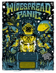Widespread Panic – Chattanooga TN – 2016 : Scraped Knee