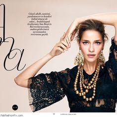 Ana Beatriz Barros for L'officiel Turkey December 2013 | Fab Fashion Fix