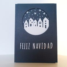 Empieza la Navidad en YoY Scrap!!! Christmas Mood, Christmas 2016, Holiday, Xmas Cards, Diy Cards, Christmas Activities, Christmas Crafts, Mery Crismas, Childrens Workshop