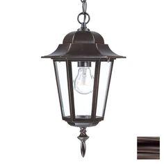 Acclaim Lighting Camelot 15.25-in H Bronze Outdoor Pendant Light