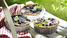 Dessert Recipes, Desserts, Acai Bowl, Cheesecake, Muffin, Pudding, Baking, Breakfast, Food