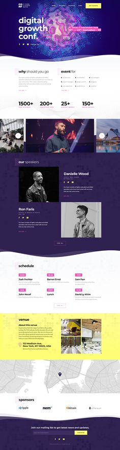 Event Conference Theme for Event and Conference. Event Planning Quotes, Event Planning Business, Web Layout, Layout Design, Conference Themes, Site Vitrine, Creer Un Site Web, Modern Website, Branding