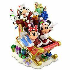 Disney Christmas Village, Disney Christmas Decorations, Hallmark Christmas Ornaments, Mickey Christmas, Christmas Figurines, Christmas Time, Merry Christmas, Disney Holidays, Peanuts Christmas