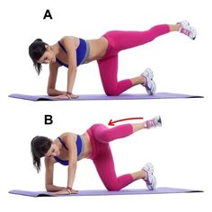 7 Exercises to Tone Your Butt That Aren't Squats