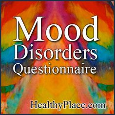 The Mood Disorders Questionnaire helps screen for possible symptoms of bipolar disorder. Take the bipolar test now.