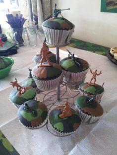 kids army birthday party