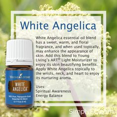White Angelica 5ml Essential Oil Young Living