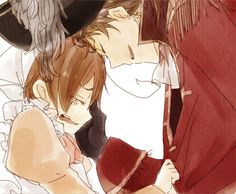 Spain and Romano (I had to for the cuteness ^3^)