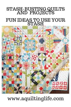 Stash Busting Quilted Projects | Sew Your Stash 2019 | 15 - A Quilting Life