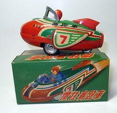 Vintage Rocket Racer - 1960s