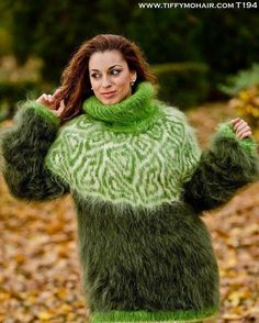 Icelandic Sweaters, Mohair Sweater, Hand Knitting, Knitwear, Winter Hats, Turtle Neck, Trending Outfits, Crochet, Womens Fashion
