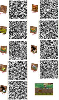 Animal Crossing: New Leaf & HHD QR Code Paths : Photo Die Truhe ^^
