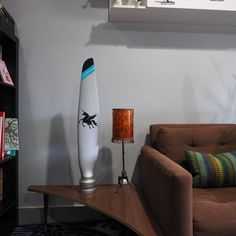 """38"""" Winged Unicorn Cessna 206 Custom Painted Authentic Aluminum Airplane Propeller Blade Modern Art Sculpture - Awesome Wedding Birthday Chr by planepieces on Etsy https://www.etsy.com/listing/495266112/38-winged-unicorn-cessna-206-custom"""