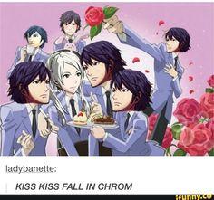"""""""MAYBE YOU'RE MY CHROM!"""" Fire Emblem: Awakening - F!Robin, Chrom Oran High School Host Club"""