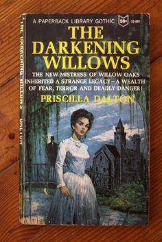 The Darkening Willows by Priscilla Dalton 1965 Vintage Paperback Mystery GOTHIC