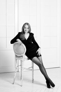 молодость, красота, девушка, фотограф, фотосессия, образ, черное платье