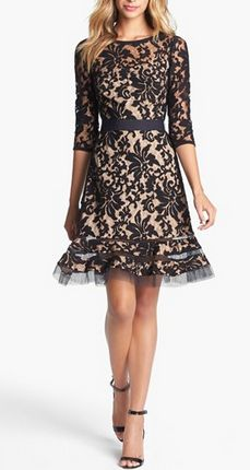 Gorgeous lace overlay dress http://rstyle.me/n/tbh3en2bn