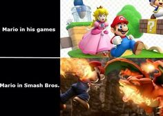I swear all of the happy cute characters get like 2000% more badass in smash bros