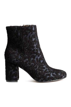 Embroidered boots | H&M