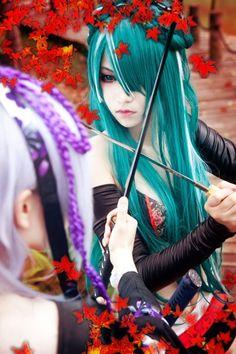Vocaloid Hatsune Miku Knife Xiya