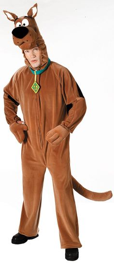 Scooby-Doo Plush Deluxe Adult Costume from CostumeExpress.com