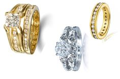 3 piece wedding ring sets re you shopping for a wedding ring set? With so many options from traditional and online jewelry shops it might be difficult to decide what ring set would suit you the most. There are several factors you need to consider searching through wedding ring sets to find the best one for you.
