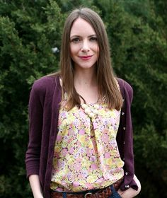 Sew This: Colette Sorbetto Top // Caught On A Whim by Caught On A Whim, via Flickr