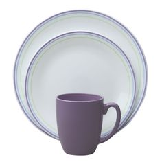 Corelle® Livingware™ Moonglow 16-Pc Dinnerware Set - perfect for your #MardiGras party table