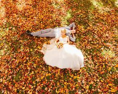 Is there a better fall wedding photo than this? | Wes Eisenhauer Photography