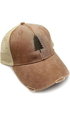 e5ce6312267ab Trucker Hat - Wilderness Area - Adjustable Men s Unisex Distressed Trucker  Hat - 2 Color Options Available ❤ .