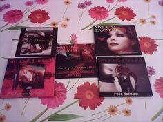 Lots de 5 singles AVANT QUE L OMBRE - FARMER MYLENE (CD)