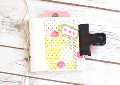 Floral Mini Book by Stephanie Gold for Papertrey Ink (April 2017)