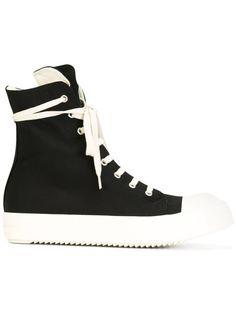 Lace-Up Hi-Tops. High Top SneakersShoes SneakersHypebeast RoomRick OwensGuy  ...