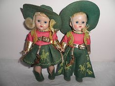 Vintage 1953 Vogue My Twin Series Ginny Cowboys SLW Strung Painted Lash