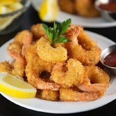 Learn my secret to easy Crunchy Fried Shrimp made right at home!