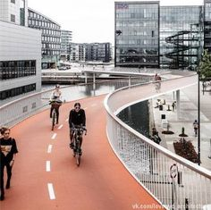"""The Bicycle Snake"" by DISSING+WEITLING architecture; Copenhagen"