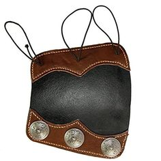 Image of Black & Brown Archery Arm Guard