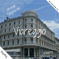 Włoskie Viareggio