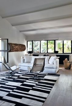 Loft design: the room is entitled to his lounge