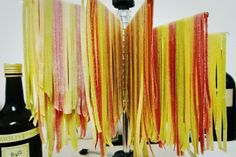 Bunte #Tagliatelle mit #RoteBeete und #Spinat #hausgemachtePasta #prosciutto2pastalicious Bunt, Heaven, Pasta, Handmade, Spinach, Sky, Hand Made, Craft, Pasta Recipes