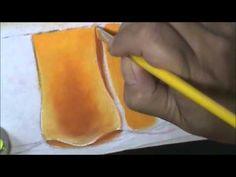 Como pintar falso barrado - pintura em tecido - YouTube