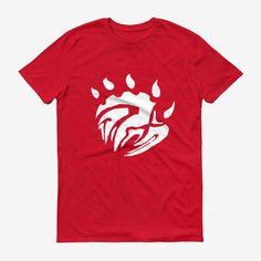 Men Base Logo T Shirt Red