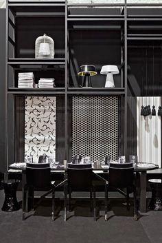 Hi-cut chair and stone stool #kartellUAE #designer #furniture #homedecor #interior #home #style #furnituredesign #dubai #design #KartellDubai #Contract
