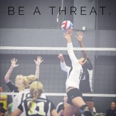 """Top 100 volleyball quotes photos Setters need to be thinking of the best possible offense at all times while still executing the little things. Every setter needs to be respected. If you are a """"sprinkler"""" type setter – one who just sprinkles the ball to all hitters trying to be fair, you will not gain respect from the other team. Front row setters are attackers before are setters. You..."""