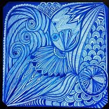 Image result for japanese wave zen tangle