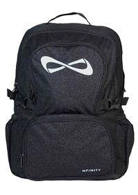 #Nfinity Black Sparkle Bag