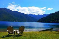 Main Area for Olympic National Park north side. Crescent Lake Lodge, etc.