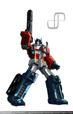 Optimus Prime by JavierReyes.deviantart.com on @deviantART